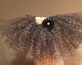 Cheetah Tutu with Headband