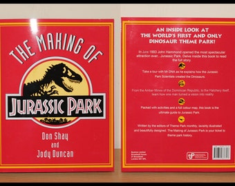 The Making of Jurassic Park book cover Digital Download