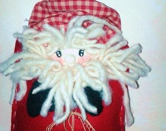 Santa Claus in wallet