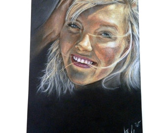 CUSTOM Hand Painted Portrait, 16x20