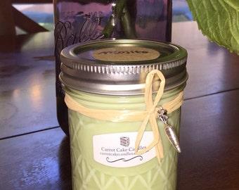 Mojito Soy Candle 8 oz Mason Jar