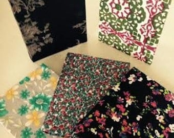 Notebooks made by women with disabilities