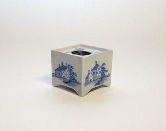 Delft Porcelain Ink Well