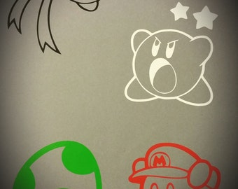 Kirby Decal Set