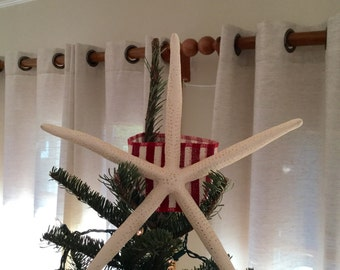 Christmas Starfish Tree Topper