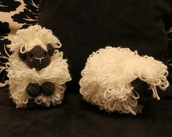 Amigurumis, stuffed, plush, sheep, animal