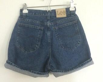 Lee Denim shorts / Denim Shorts / Summer Denim