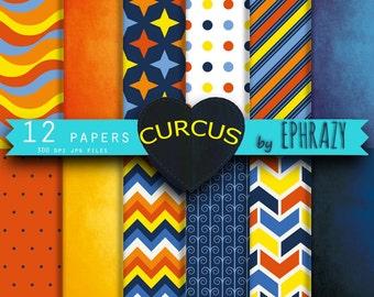 Curcus digital paper pack