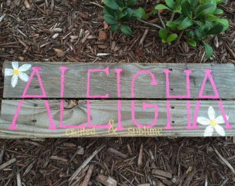Custom Name Board