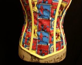 Spiderman corset