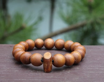 "Round 12mm ""Lt. Brown"" Bracelet (Classics Collection)"