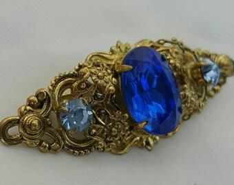 Vintage Blue Pin