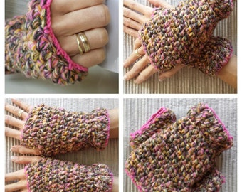 Fingerless gloves - wristwarmers