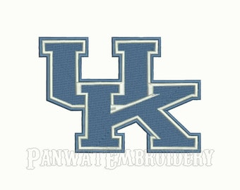 9 Size Kentucky Wildcats Logo Embroidery Designs, Machine Embroidery Designs, College Football Embroidery Designs - INSTANT DOWNLOAD
