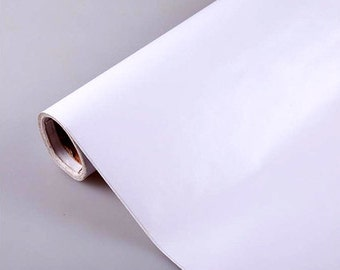 Solid White Self Adhesive Contact Paper