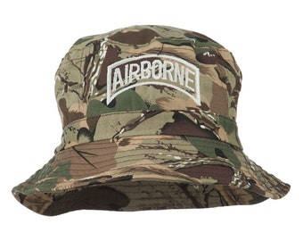 Airborne Embroidered Bucket Hat
