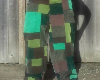 Your choice patchwork pants