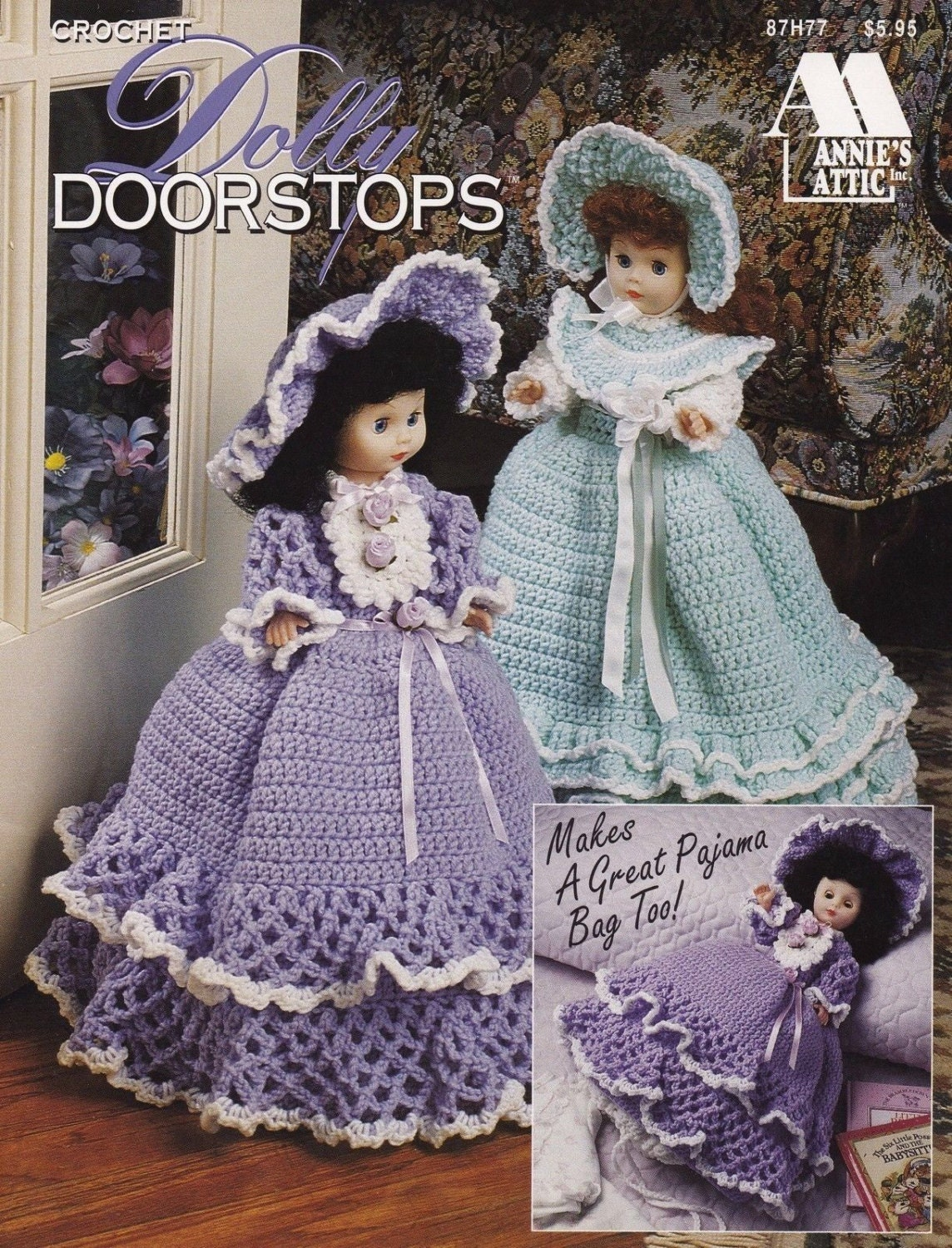 Dolly Doorstops Annie S Attic Doll Clothes Home Decor