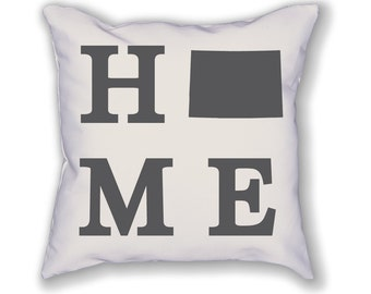 Colorado Home State Pillow