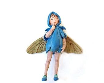 Scilla Fairy figurine, fairy garden miniature, fairy garden, miniature garden, fairy garden decor, fairies, faeries,  Cecily Mary Barker