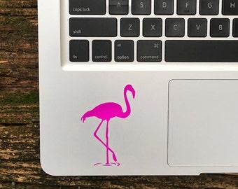 Flamingo Sticker, Flamingo Decal, Flamingo Macbook Stickers, Flamingo Laptop Decals
