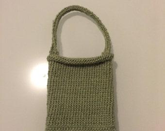 Green Knit Phone Case/Phone Holder