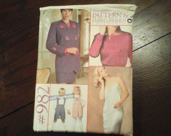 Bernina/Vogue Patterns and Embellishment Collection