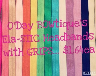 Ela-STIC Handmade Headbands!!