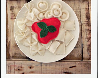 pasta italiana felt play food