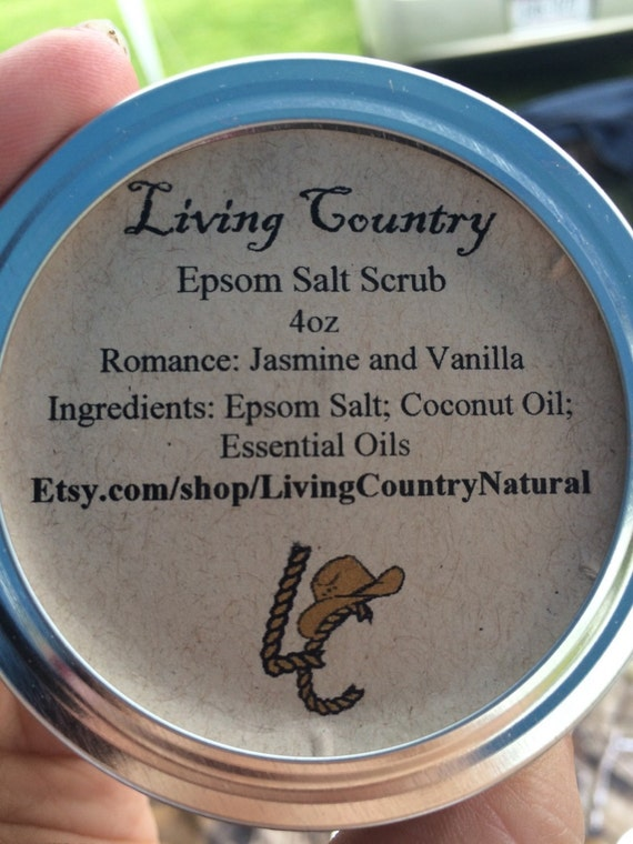 All Natural Epsom Salt Scrub coconut oil by ...