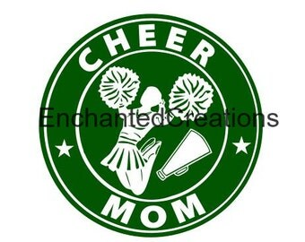 SVG file - Cheer Mom Coffee Cup