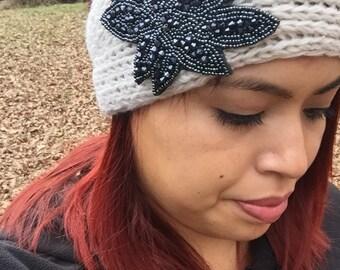 Crochet winter headband ear warmers fall and winter fashion