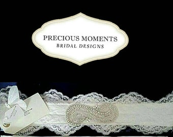 Lace Bridal Belt Uk Only 1 available