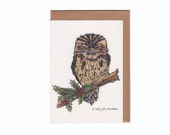 A Holly Jolly Christmas - Holiday Card