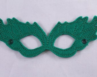 Poison Ivy Embroidered Mask