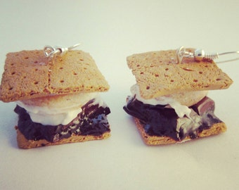 S'mores earrings!