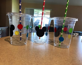 Mickey Mouse birthday cups, Mickey Mouse cups, Mickey Mouse birthday, mickey mouse party, mickey mouse party