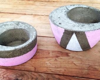 Mini Cement Pots