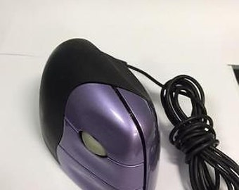 Evoluent  Right handed USB Mouse Vertical Mouse 2 Purple / Black