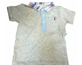 Plum Collections American Retro Polo Top