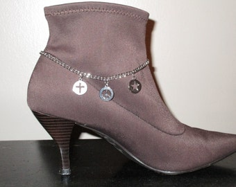 Boot Jewelry, Peace Danglet