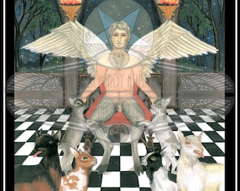 The Devil- Major Arcana Original Size Art Print