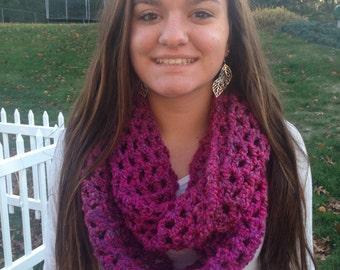 Crochet Infinity Scarf (Ambrosia)