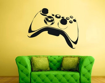 rvz1623 Wall Decal Vinyl Sticker Decals Game Xbox 360 Ps3 Game Ps2 Controller