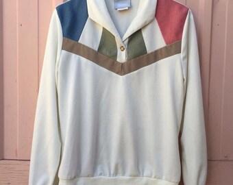 1980s medium Pastel Blair light sweater