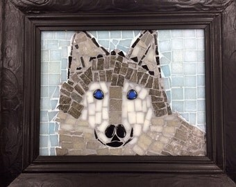 The Blind Wolf - A life represented in Mosaic
