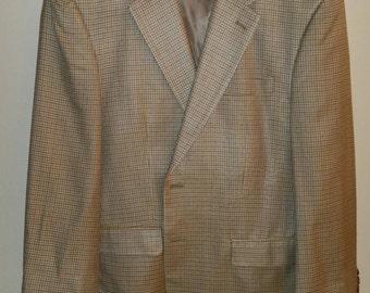 RALPH LAUREN vintage silk jacket blazer sz M