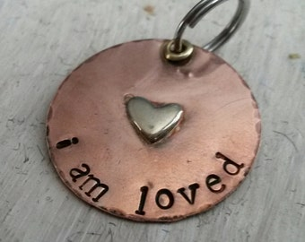 I Am Loved Pet Charm - Pet Bling- Pet Swag - Pet Accessories - Gift for Pet Lovers