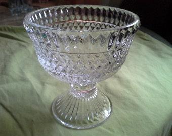 Crystal Pedestal Dish