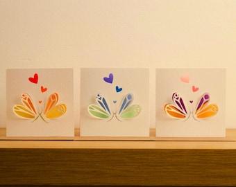 Butterflies, Love, Birthday, Anniverssairy, wedding, engagement